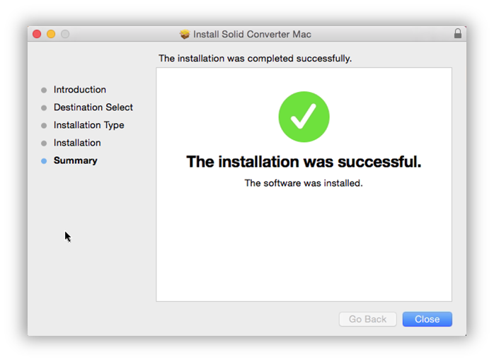 Mac Installation