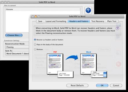 Convertidor PDF a Word para Mac