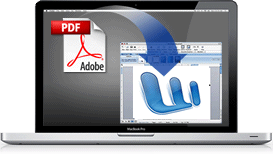 Recover content from PDF files on your Mac